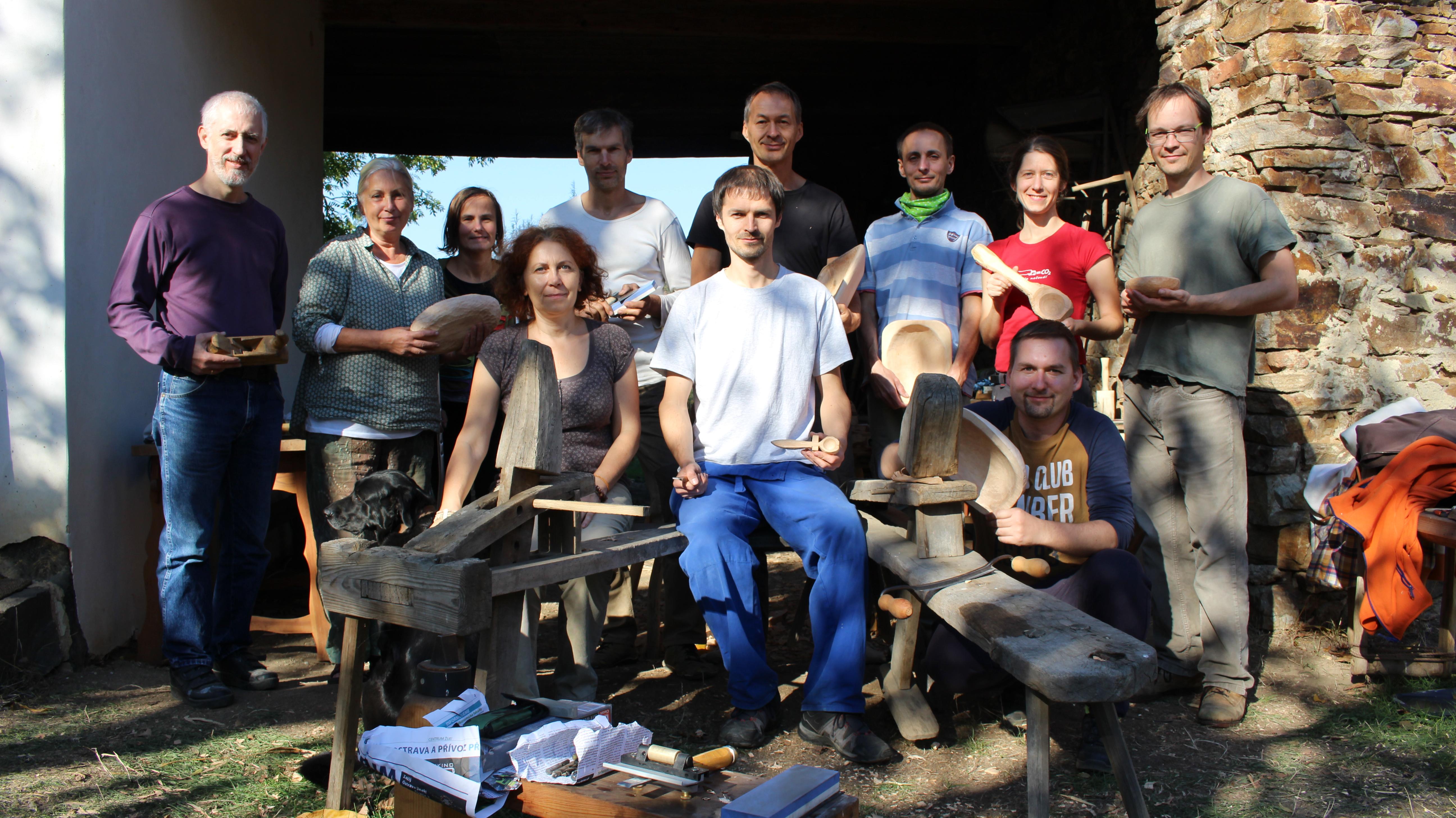 Kurz broušení nástrojů a vyřezávání ze dřeva